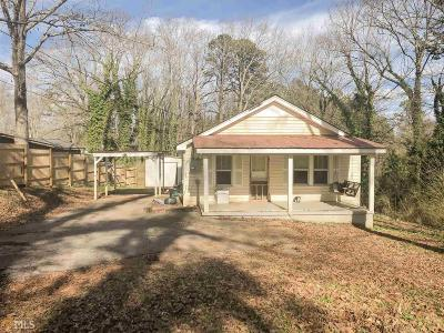 Habersham County Single Family Home Under Contract: 1106 Chase Rd