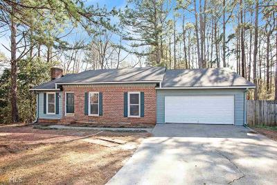 Conyers Single Family Home Under Contract: 2928 High Brook Way