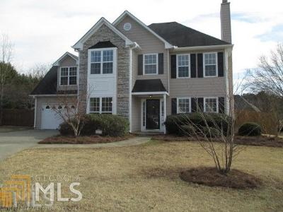 Loganville Single Family Home Under Contract: 3513 Weaver Falls