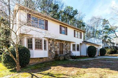 Stone Mountain Single Family Home Under Contract: 4463 Cedar Glen #34