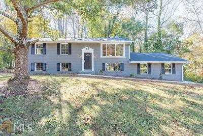 Stone Mountain Single Family Home New: 1431 Walnut Ridge Way