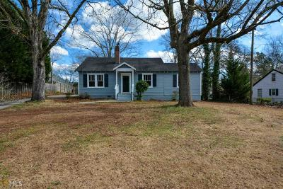 Tucker Single Family Home Under Contract: 4834 Chamblee Tucker Rd