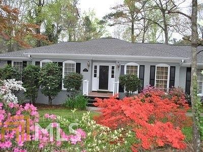 Sandy Springs Single Family Home Under Contract: 440 Glencourtney Dr