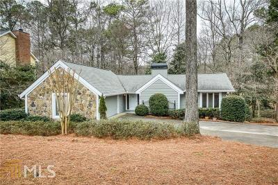 Roswell Single Family Home Under Contract: 245 Sassafras Rd