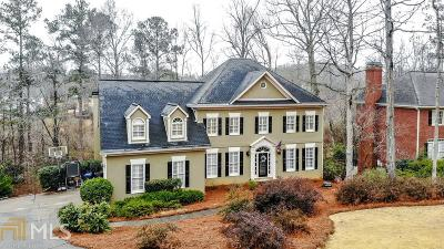 Roswell Single Family Home For Sale: 325 Hamilton Park Dr