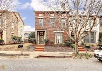 Kennesaw Condo/Townhouse Under Contract: 1629 Ridenour Pkwy
