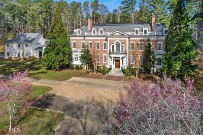 Peachtree City GA Single Family Home For Sale: $2,250,000