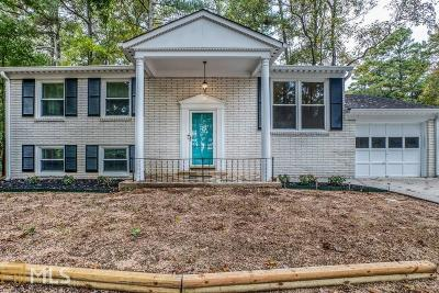 Chamblee Single Family Home Under Contract: 3828 Admiral Dr