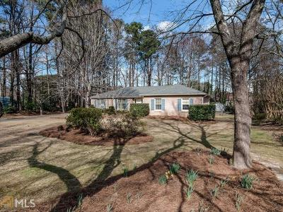 Lilburn Single Family Home Under Contract: 400 Little John Dr
