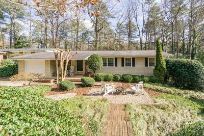 Brookhaven Single Family Home Under Contract: 3679 Donaldson