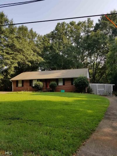 Barnesville Single Family Home Under Contract: 208 Poplar St