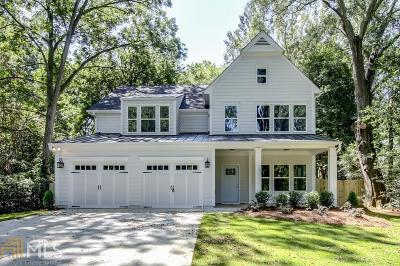 Woodstock Single Family Home New: 107 Crown Ln