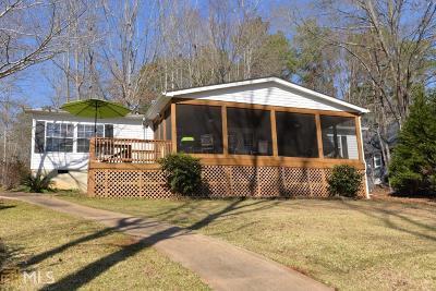 Buckhead, Eatonton, Milledgeville Single Family Home Under Contract: 131 Southshore Rd #Lot 24