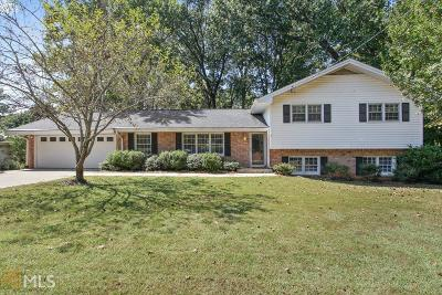 Sandy Springs Single Family Home Under Contract: 5930 Garber Dr