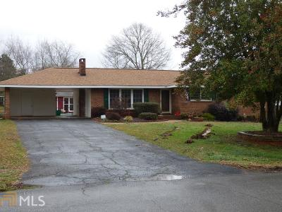 Cartersville Single Family Home Under Contract: 7 Magnolia Dr
