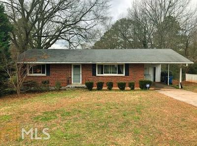Marietta Single Family Home Under Contract: 1910 Meadowbrook Ln