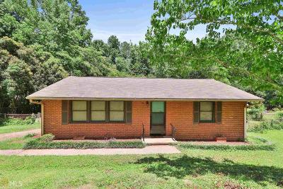 Newnan Single Family Home Under Contract: 15 Bailey Dr