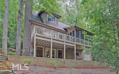 Habersham County Single Family Home For Sale: 2000 Soque Wilderness Rd