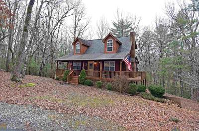 Blairsville Single Family Home Under Contract: 157 Jims #5
