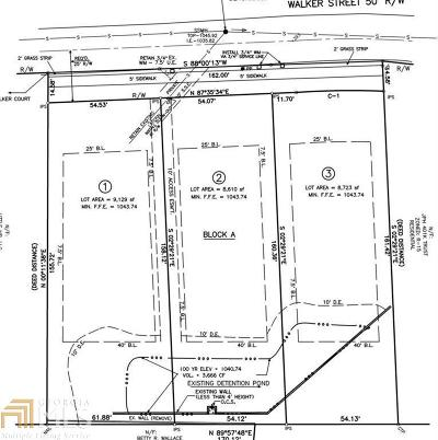 Smyrna Residential Lots & Land For Sale: 1498 Walker St