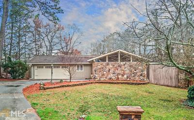 Marietta Single Family Home Under Contract: 3576 High Green Dr