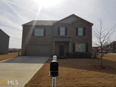 Ellenwood Single Family Home New: 5489 Luther Ct #Ph 2