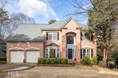 Alpharetta Single Family Home Under Contract: 1040 Compass Pt Chase
