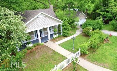 Coweta County Single Family Home New: 168 Bridge St