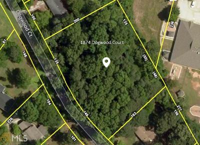 Snellville Residential Lots & Land New: 1874 Dogwood Ct