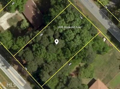 Snellville Residential Lots & Land New: 1898 Dogwood Rd