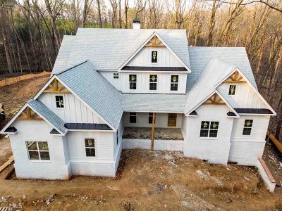 Alpharetta Single Family Home New: 16355 Henderson Rd