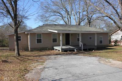 Loganville Single Family Home Under Contract: 195 Magnolia St