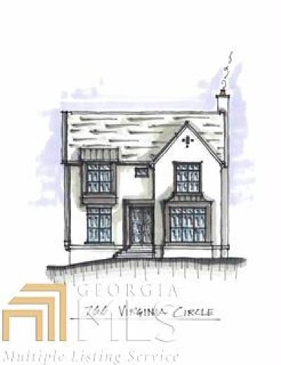 Virginia Highland Single Family Home For Sale: 766 NE Virginia Cir