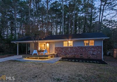 Decatur Single Family Home Under Contract: 3057 Vine Cir