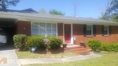 Haddock, Milledgeville, Sparta Single Family Home For Sale: 110 W Beechwood Cir
