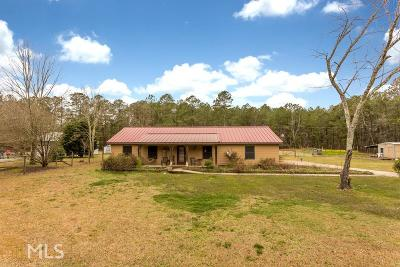 Palmetto Single Family Home New: 8500 Chastain Rd