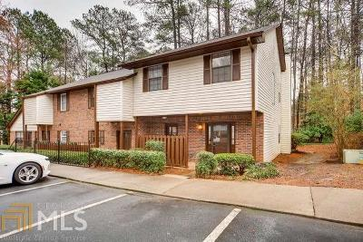 Norcross Condo/Townhouse Under Contract: 5873 Wintergreen Rd