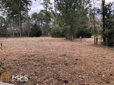 Statesboro Residential Lots & Land New: Timberline Rd