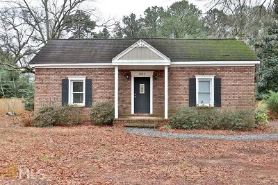 Acworth Single Family Home New: 2525 Hickory Grove Rd