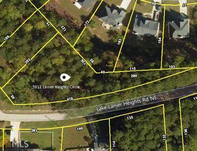 Buford Residential Lots & Land Under Contract: 5911 Lanier Heights Cir #49