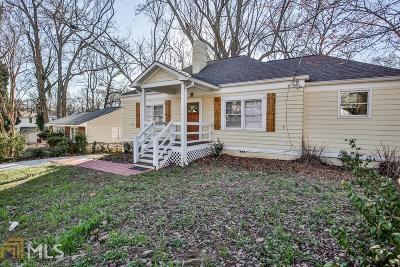 Sylvan Hills Single Family Home Under Contract: 1861 Sylvan Rd