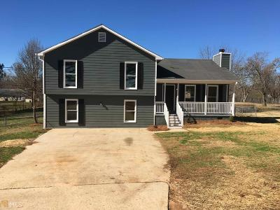 Winder Single Family Home New: 218 Carl-Cedar Hill Rd
