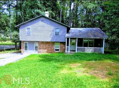 Lithonia Single Family Home New: 3412 Cedar Rock