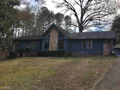 Lilburn Single Family Home New: 1345 Cresent Cir
