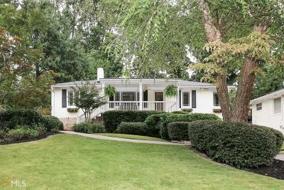Atlanta Single Family Home New: 1246 Citadel Dr