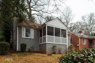 Westview Single Family Home For Sale: 1695 Derry Ave