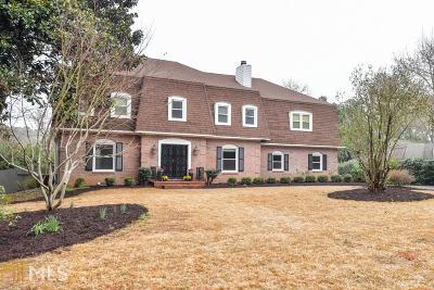 Marietta Single Family Home New: 3449 Somerset Trce
