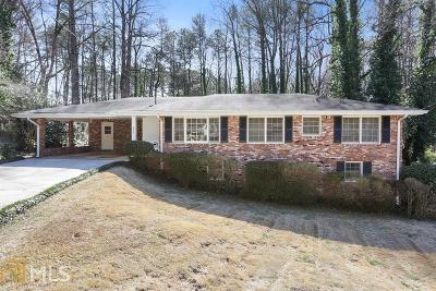 Marietta Single Family Home New: 630 Amber Pl