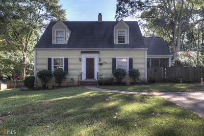 Marietta Single Family Home New: 594 Cherokee St
