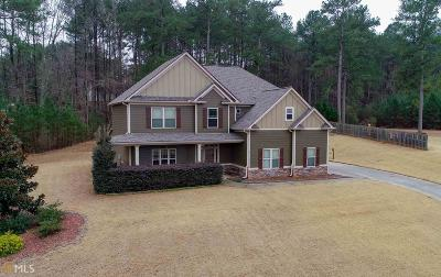 Coweta County Single Family Home New: 204 Martins Pond Rd